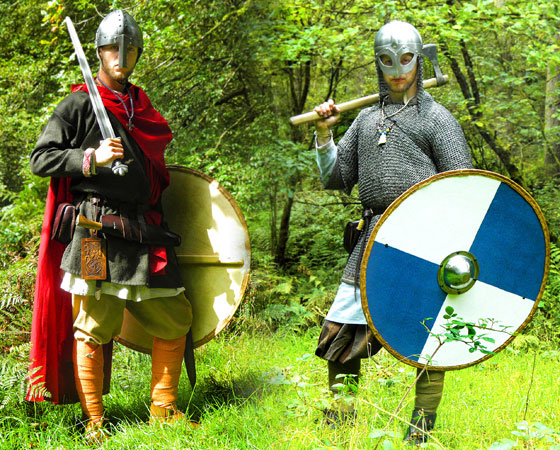 Viking and Anglo-Saxon dress up costumes