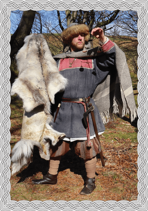 Viking dress up experience