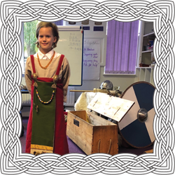 Viking dress up at school